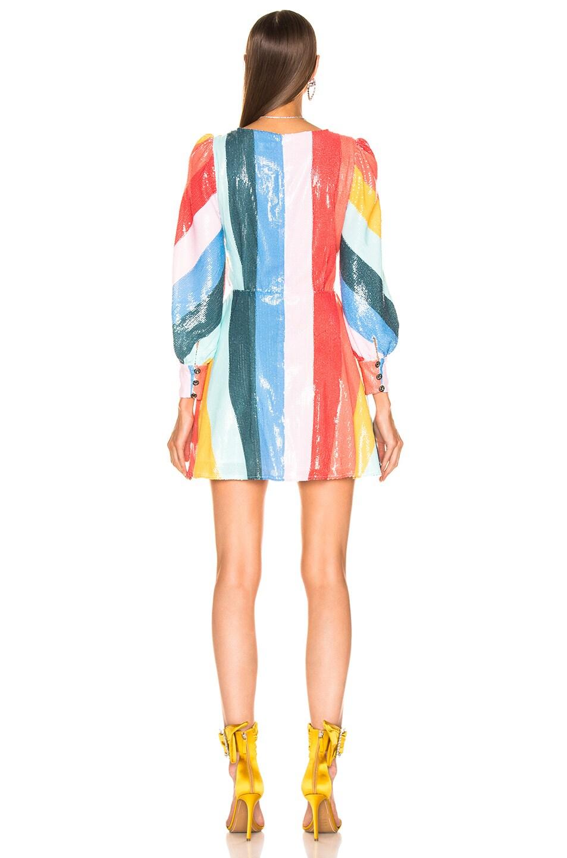 Image 3 of Olivia Rubin Kylie Dress in Rainbow Bright