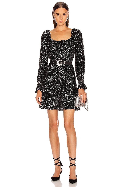 Image 1 of Olivia Rubin Eliza Dress in Black