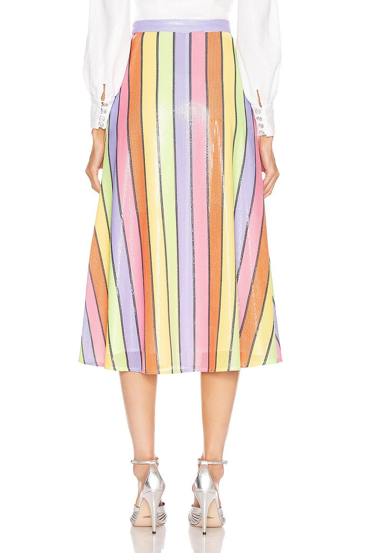 Image 3 of Olivia Rubin Penelope Skirt in Resort Stripe