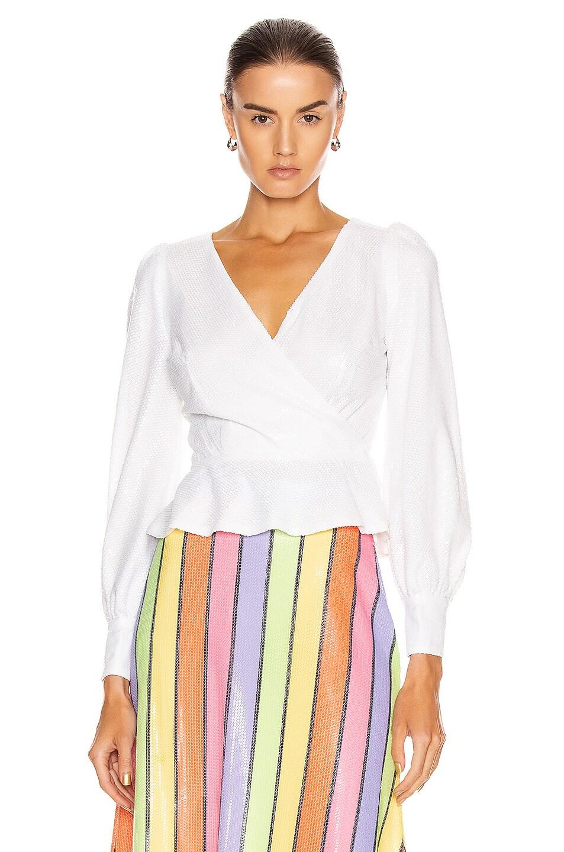 Image 1 of Olivia Rubin Catie Top in White