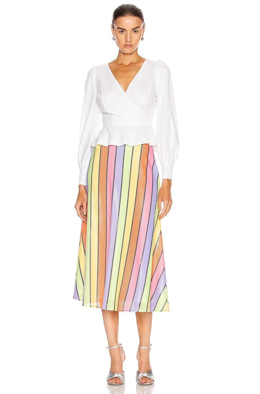 Image 4 of Olivia Rubin Catie Top in White
