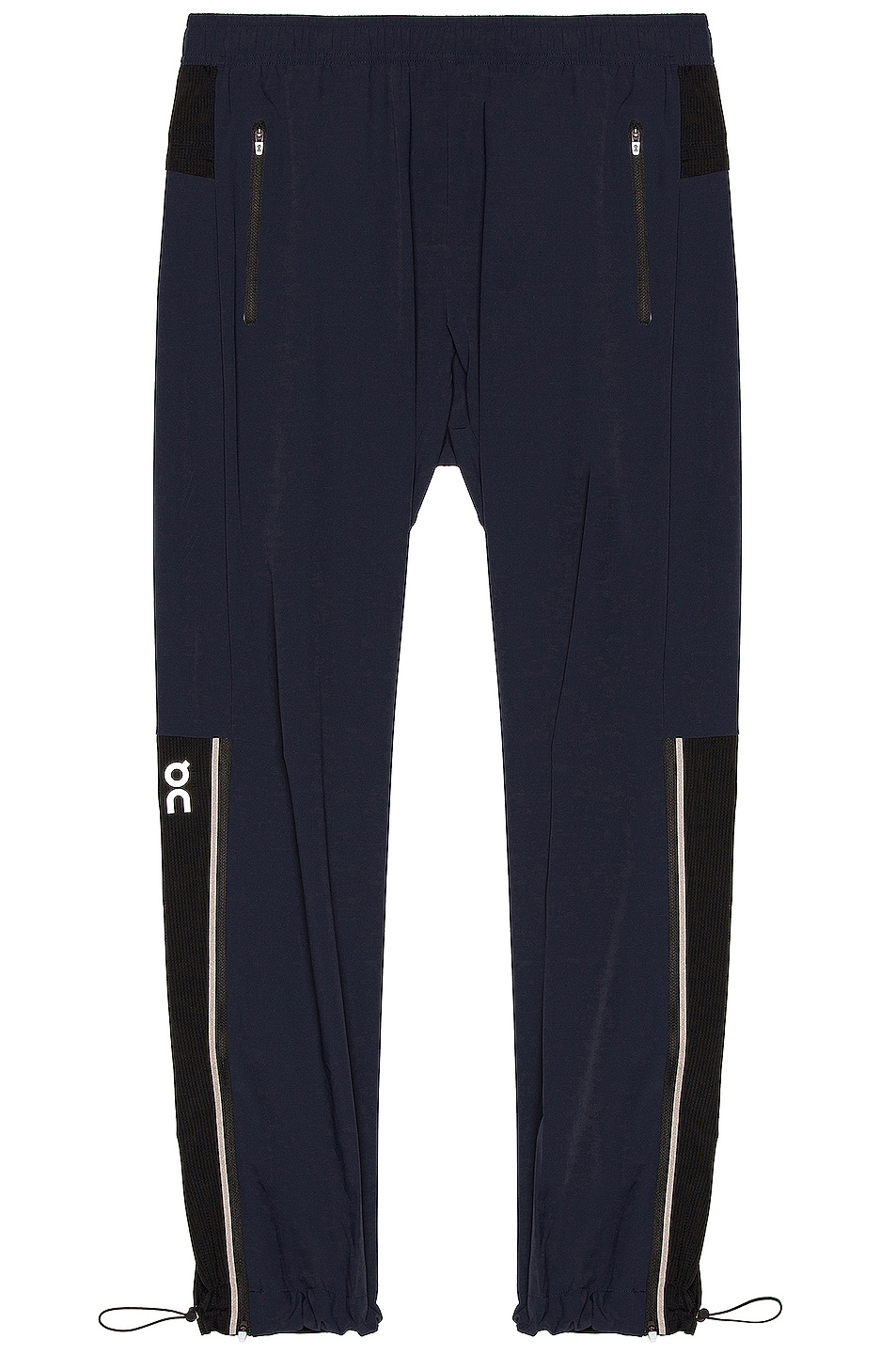 Image 1 of On Track Pants in Navy & Black