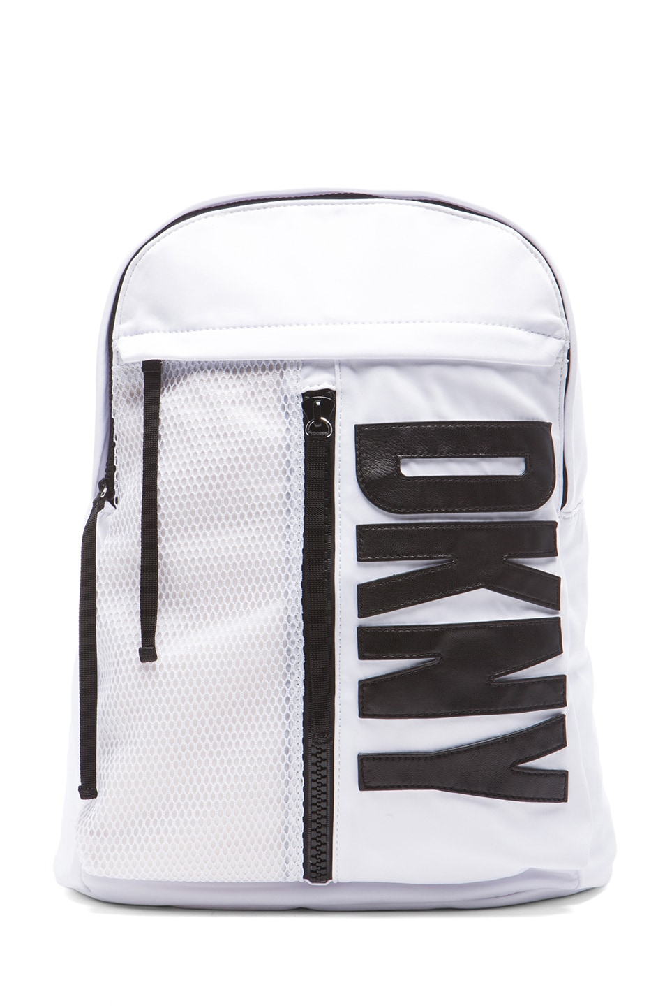 Image 1 of Opening Ceremony x DKNY Backpack in White & Black