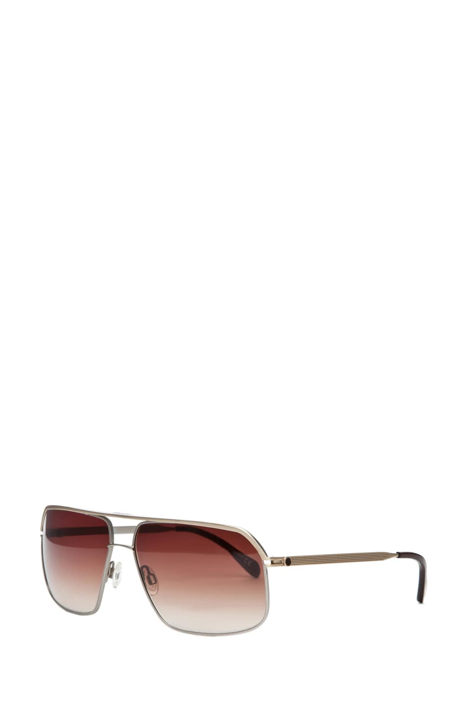 02ddba8687 Image 2 of Oliver Peoples Connolly in Brushed Gold