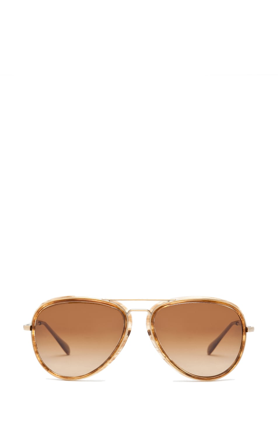 Image 1 of Oliver Peoples Rayford Polarized Sunglasses in Cedar Tortoise