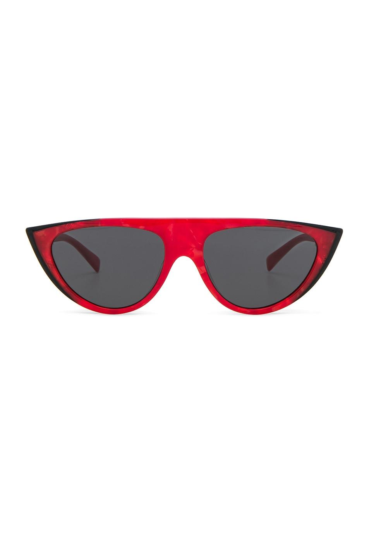 Image 1 of Oliver Peoples x Alain Mikli Miss J Sunglasses in Red & Black