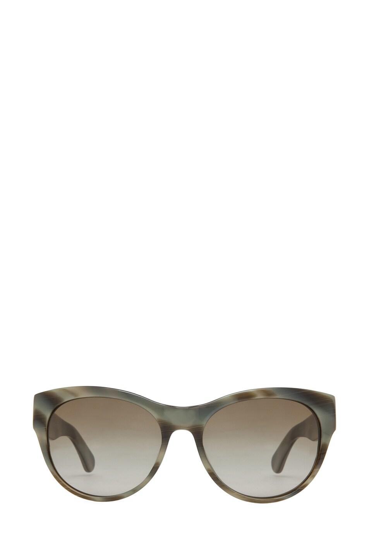 Image 1 of Oliver Peoples Mande Sunglasses in Horn