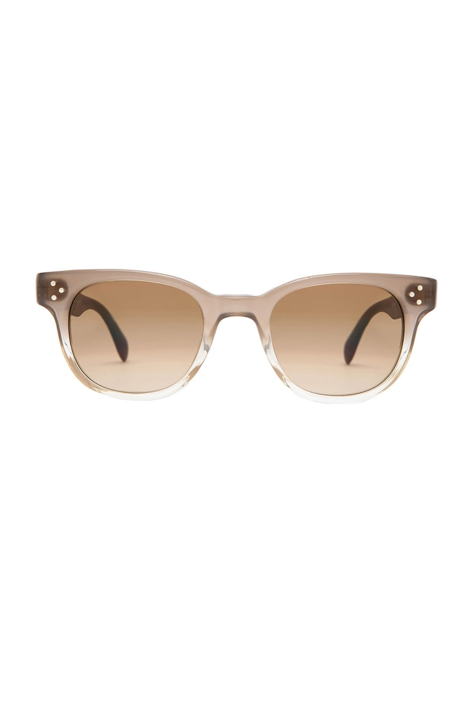 Image 1 of Oliver Peoples Afton Photochromic Sunglasses in Taupe Gradient