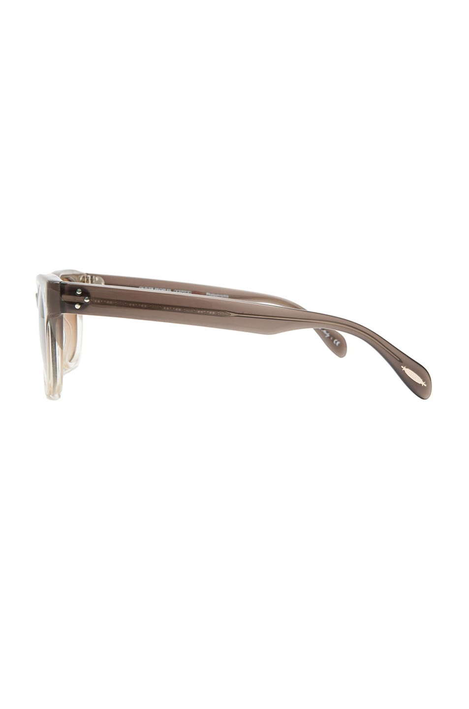 Image 3 of Oliver Peoples Afton Photochromic Sunglasses in Taupe Gradient