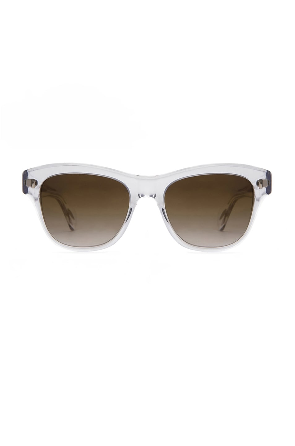 Image 1 of Oliver Peoples Soffee Mirror Sunglasses in Crystal & Bronze