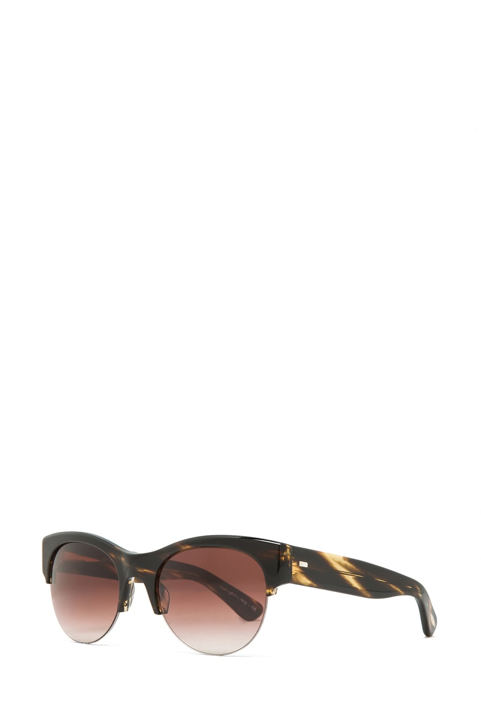 Image 2 of Oliver Peoples Louella Sunglasses in Cocobolo