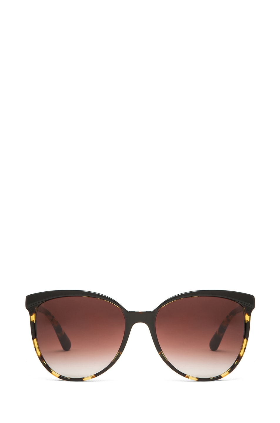 Image 1 of Oliver Peoples Ria Sunglasses in Dark Tortoise Brown