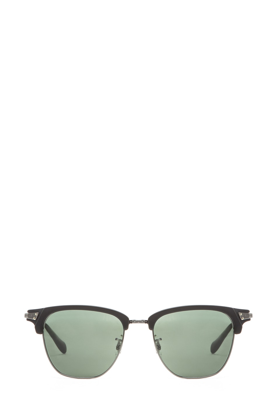 Image 1 of Oliver Peoples Banks Sunglasses in Matte Black