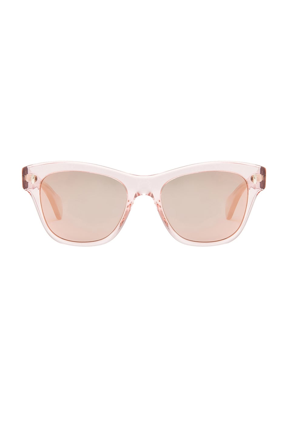 Image 1 of Oliver Peoples Sofee Mirror Sunglasses in Rose Crystal