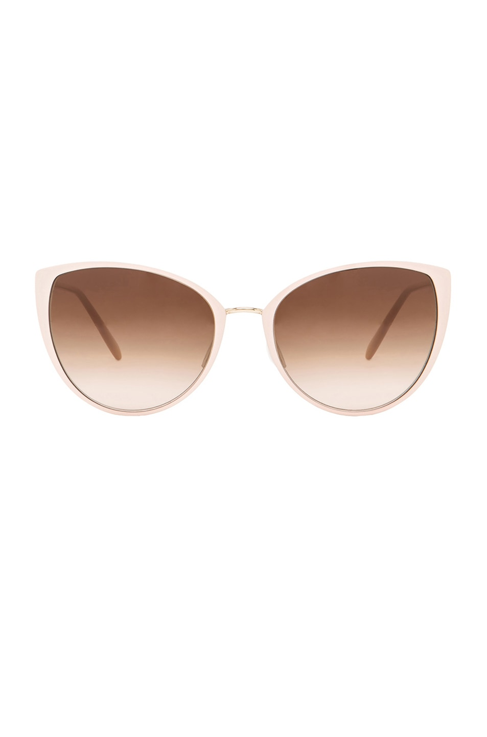 Image 1 of Oliver Peoples Jaide Sunglasses in Nude & Gold
