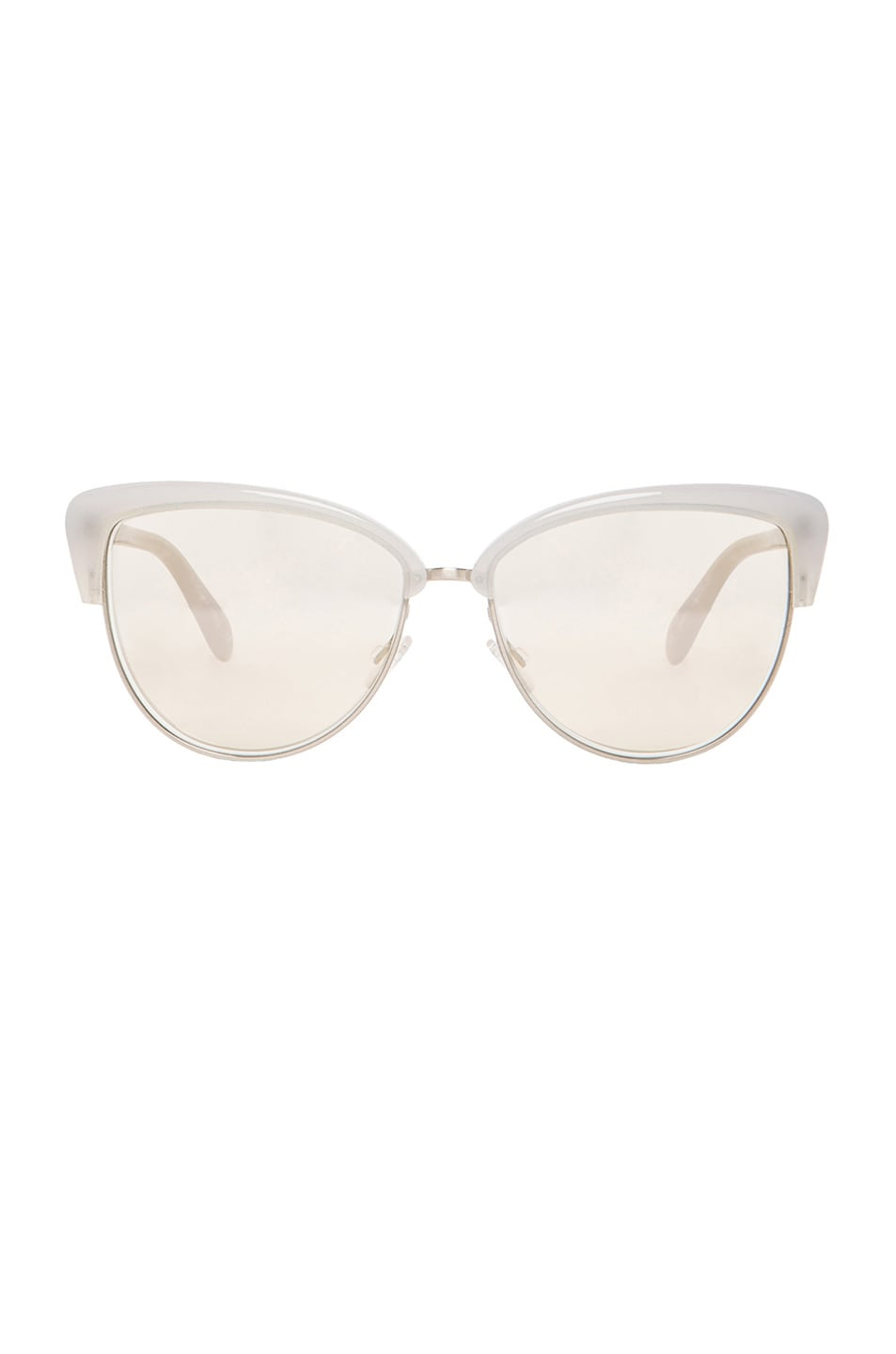Image 1 of Oliver Peoples Alisha Sunglasses in Soft Pearl & Opal Flash