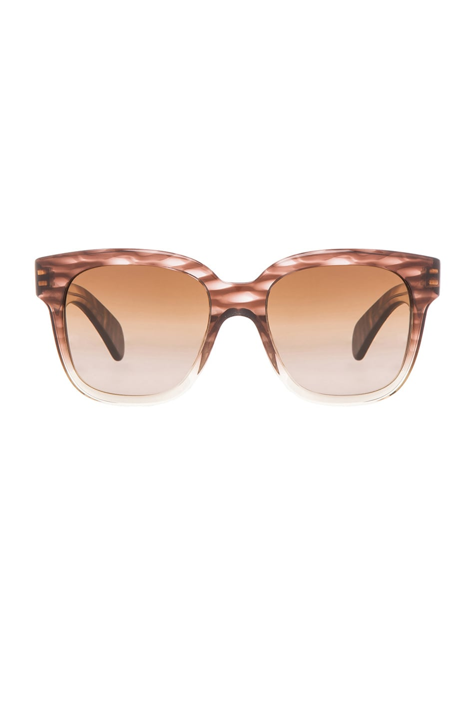 Image 1 of Oliver Peoples Brinley Sunglasses in Henna Gradient