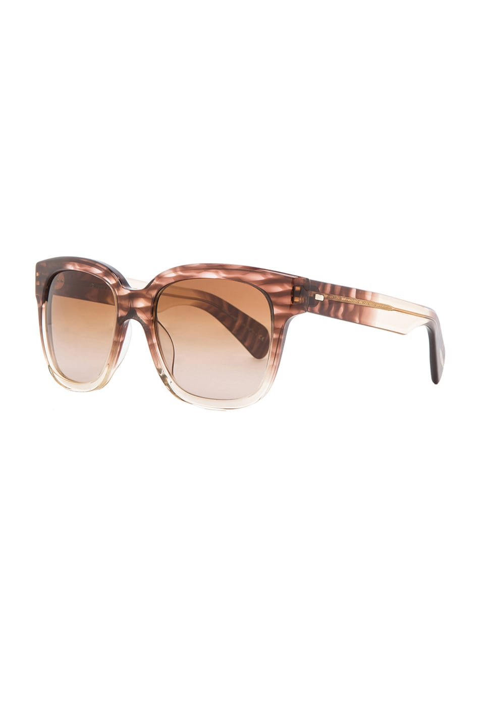 Image 2 of Oliver Peoples Brinley Sunglasses in Henna Gradient