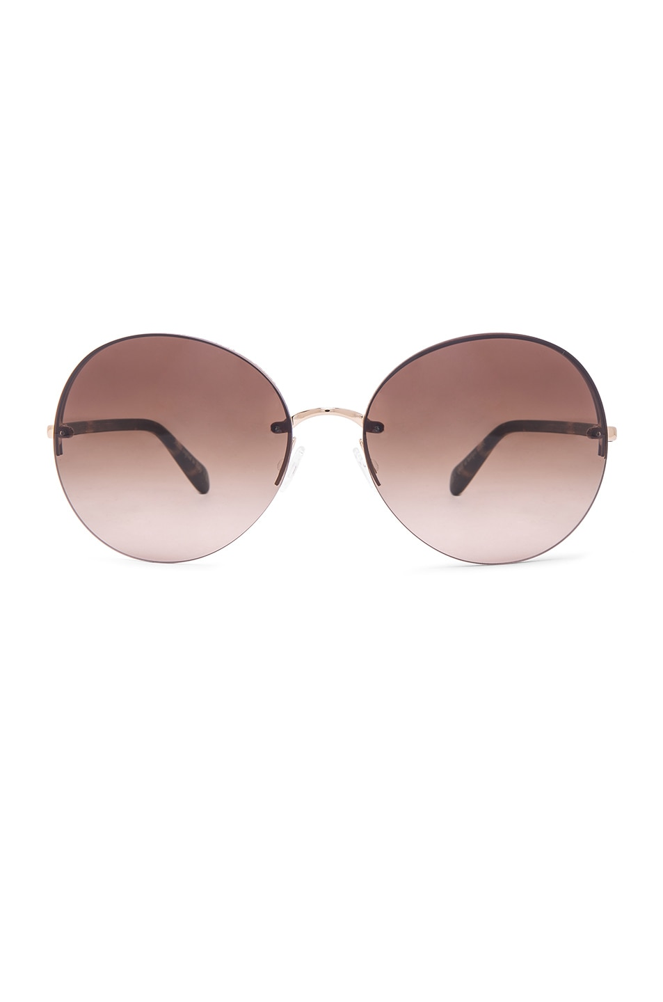 Image 1 of Oliver Peoples Jorie Sunglasses in Gold & Umber