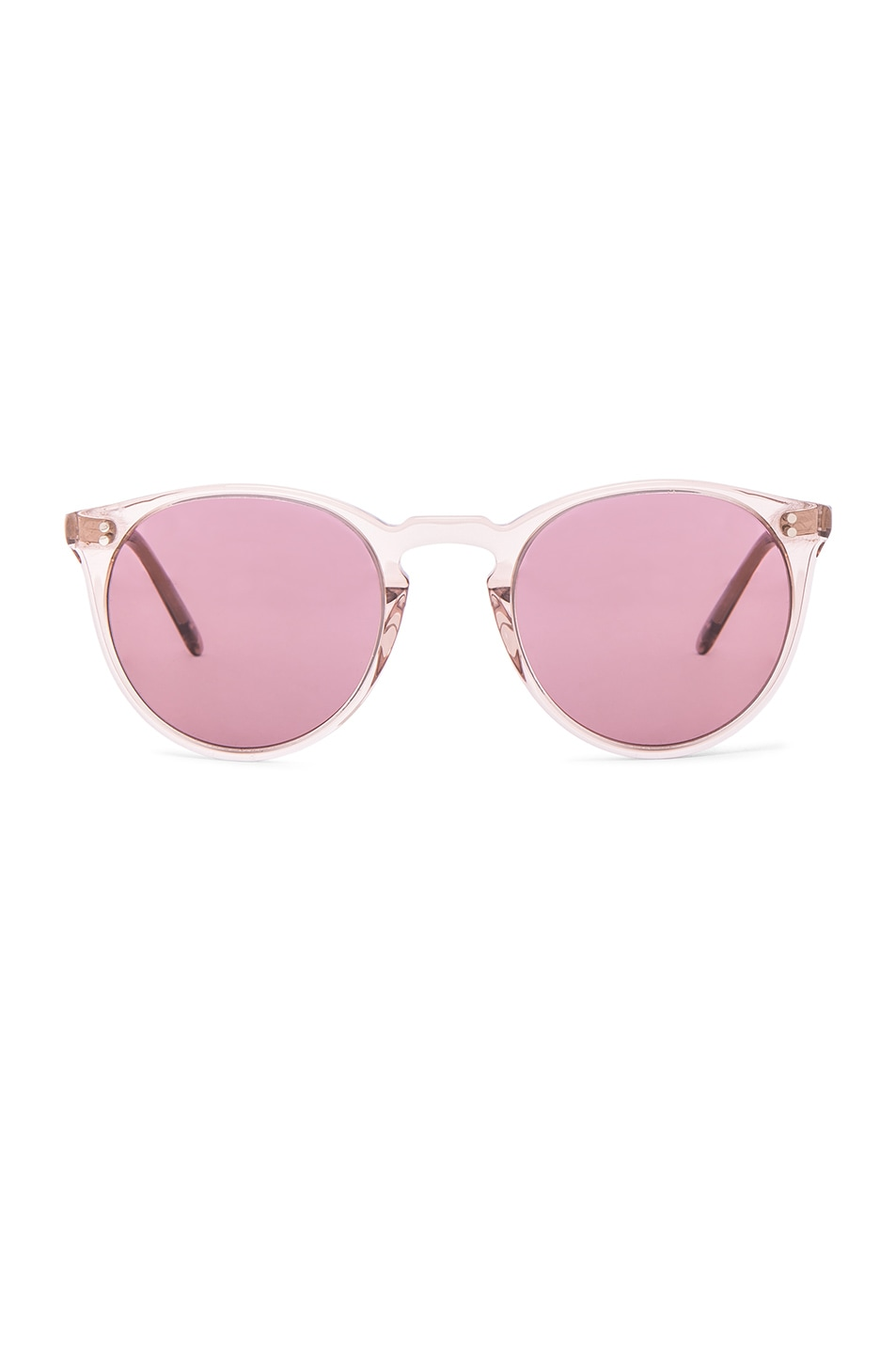Image 1 of Oliver Peoples The Row O'Malley NYC Sunglasses in Translucent Amber