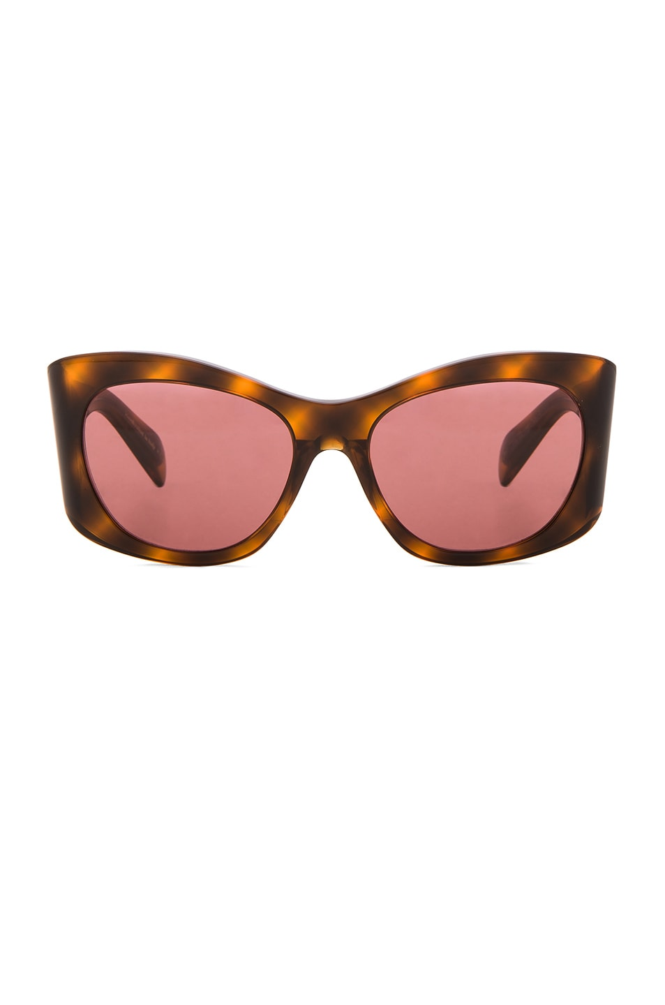 Image 1 of Oliver Peoples The Row Bother Me Sunglasses in Tortoise