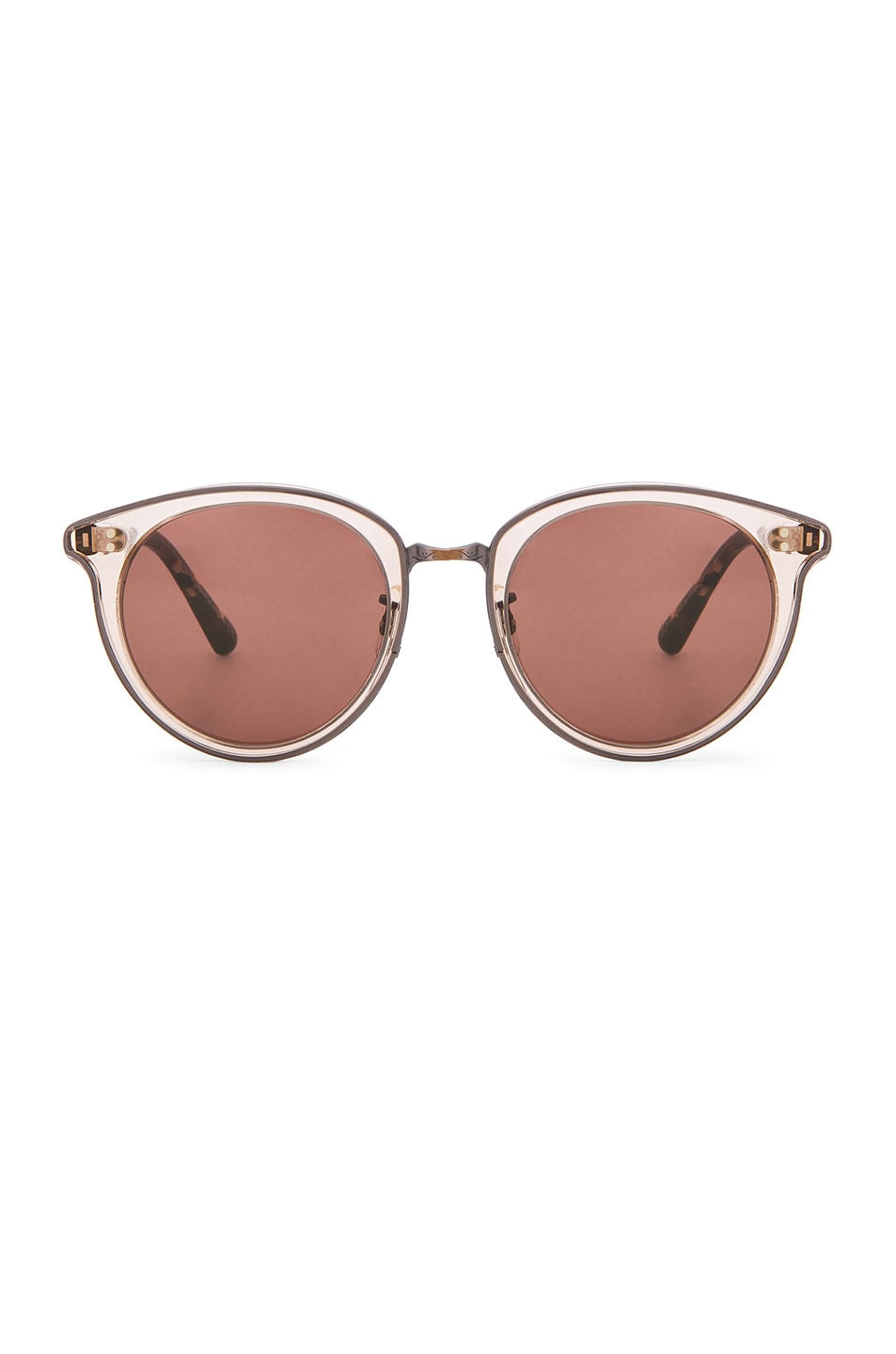 Image 1 of Oliver Peoples Spelman Sunglasses in Blush & Rose