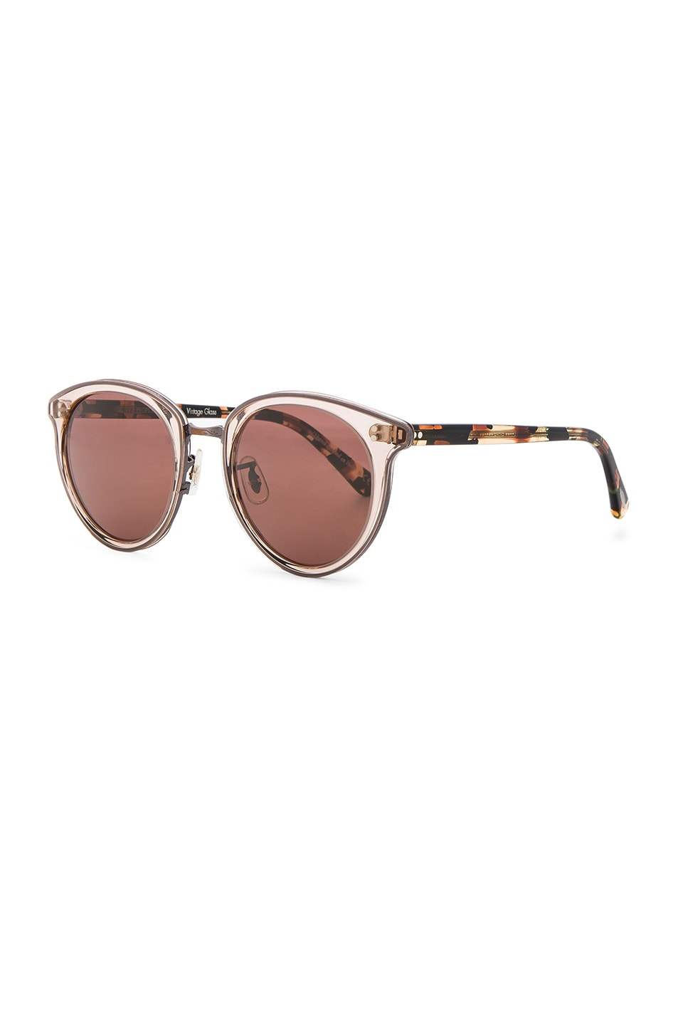 Image 2 of Oliver Peoples Spelman Sunglasses in Blush & Rose