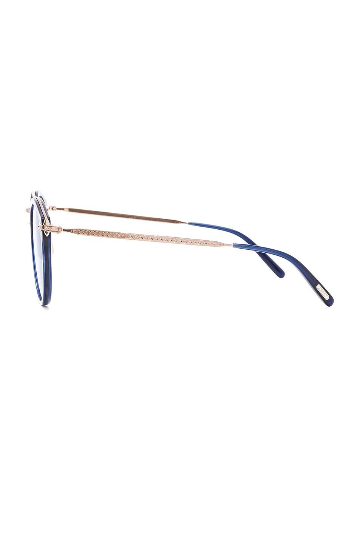 Image 3 of Oliver Peoples Remick Sunglasses in Denim & Brushed Rose Gold