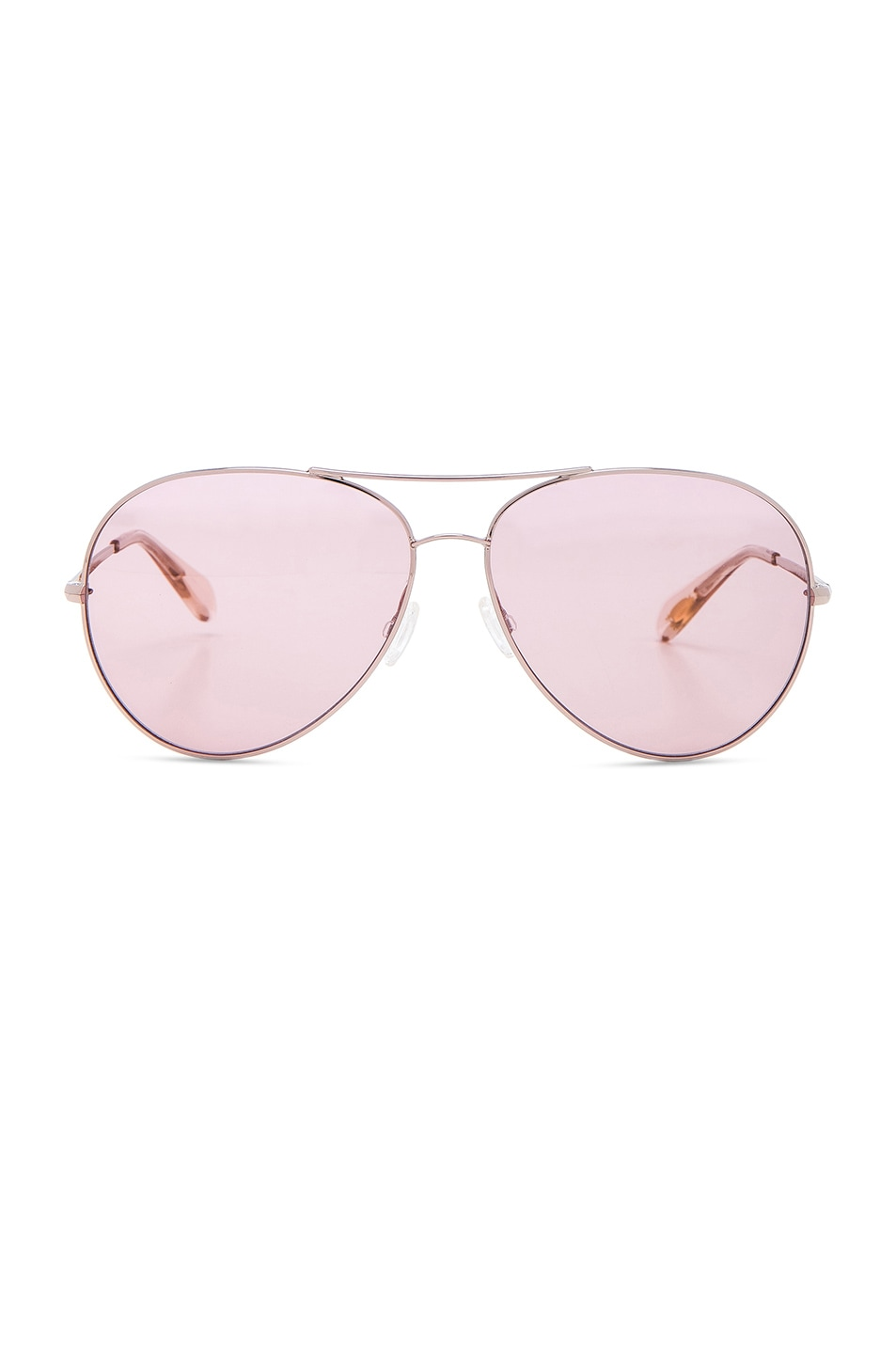 Image 1 of Oliver Peoples Sayer Sunglasses in Rose Gold & Pink