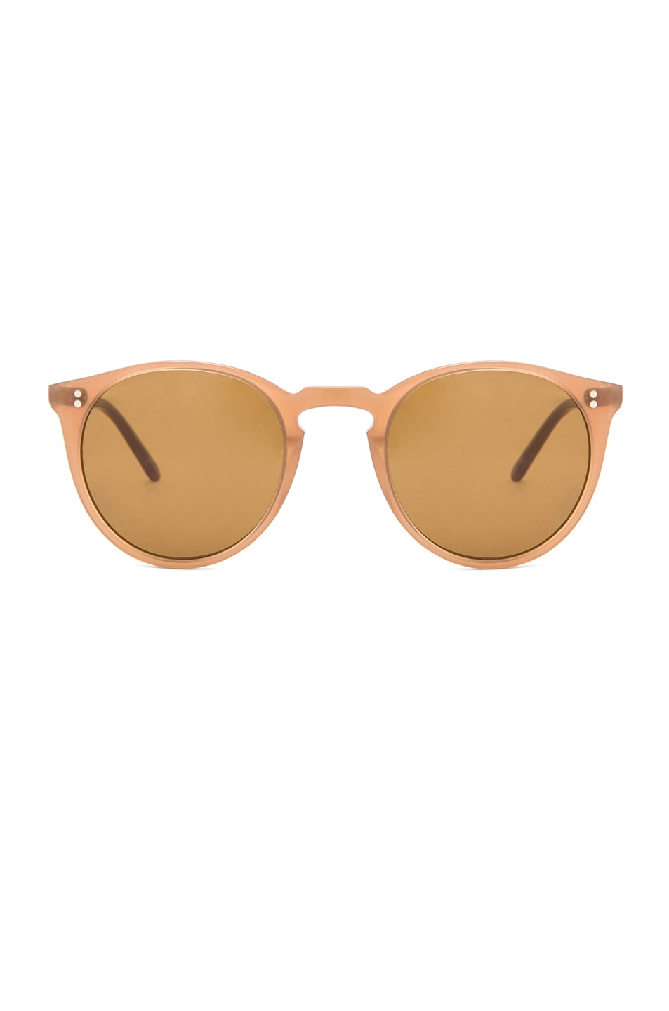 Image 1 of Oliver Peoples O'Malley NYC Sunglasses in Topaz & Brown