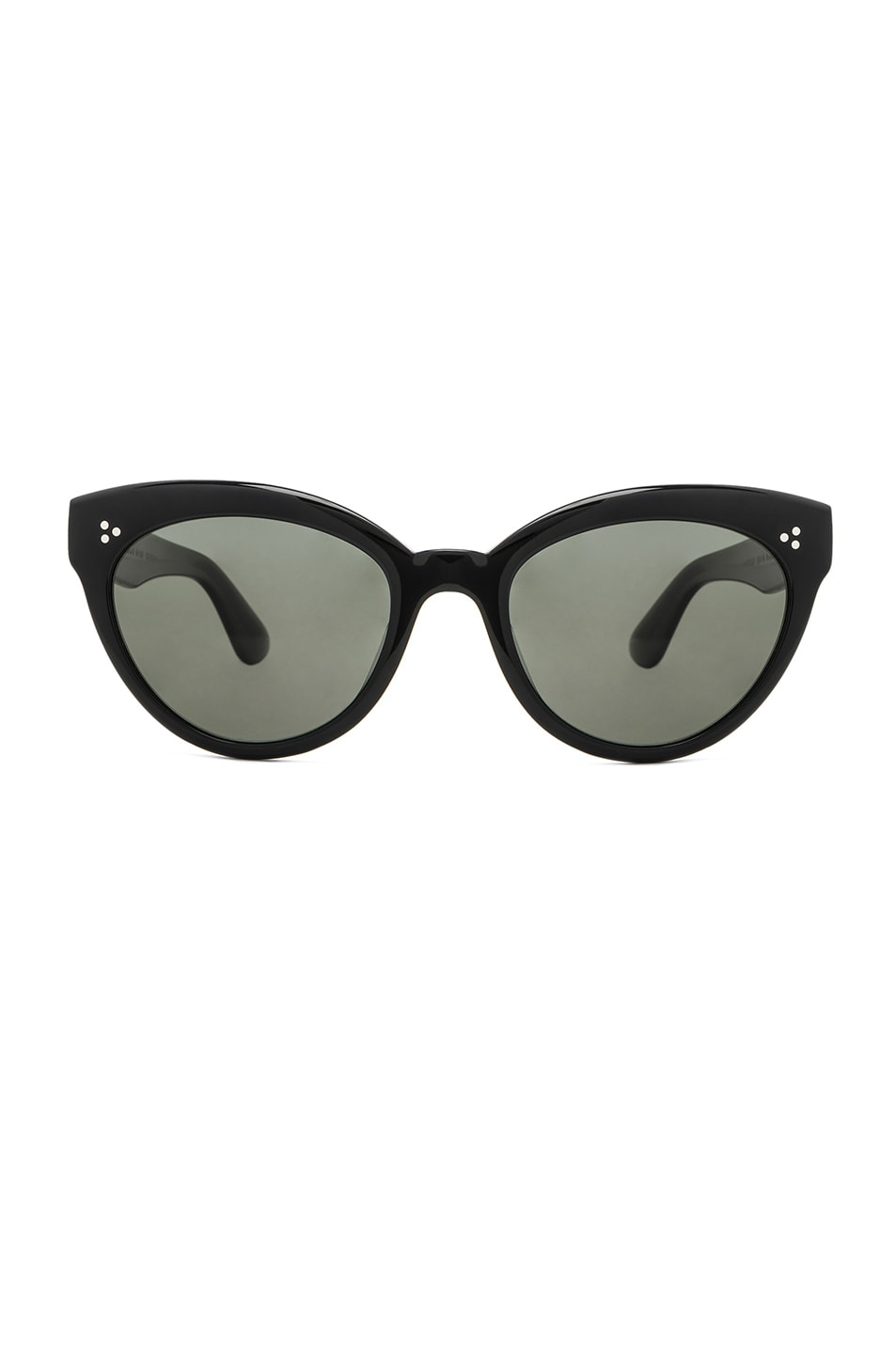 Image 1 of Oliver Peoples Roella Sunglasses in Black