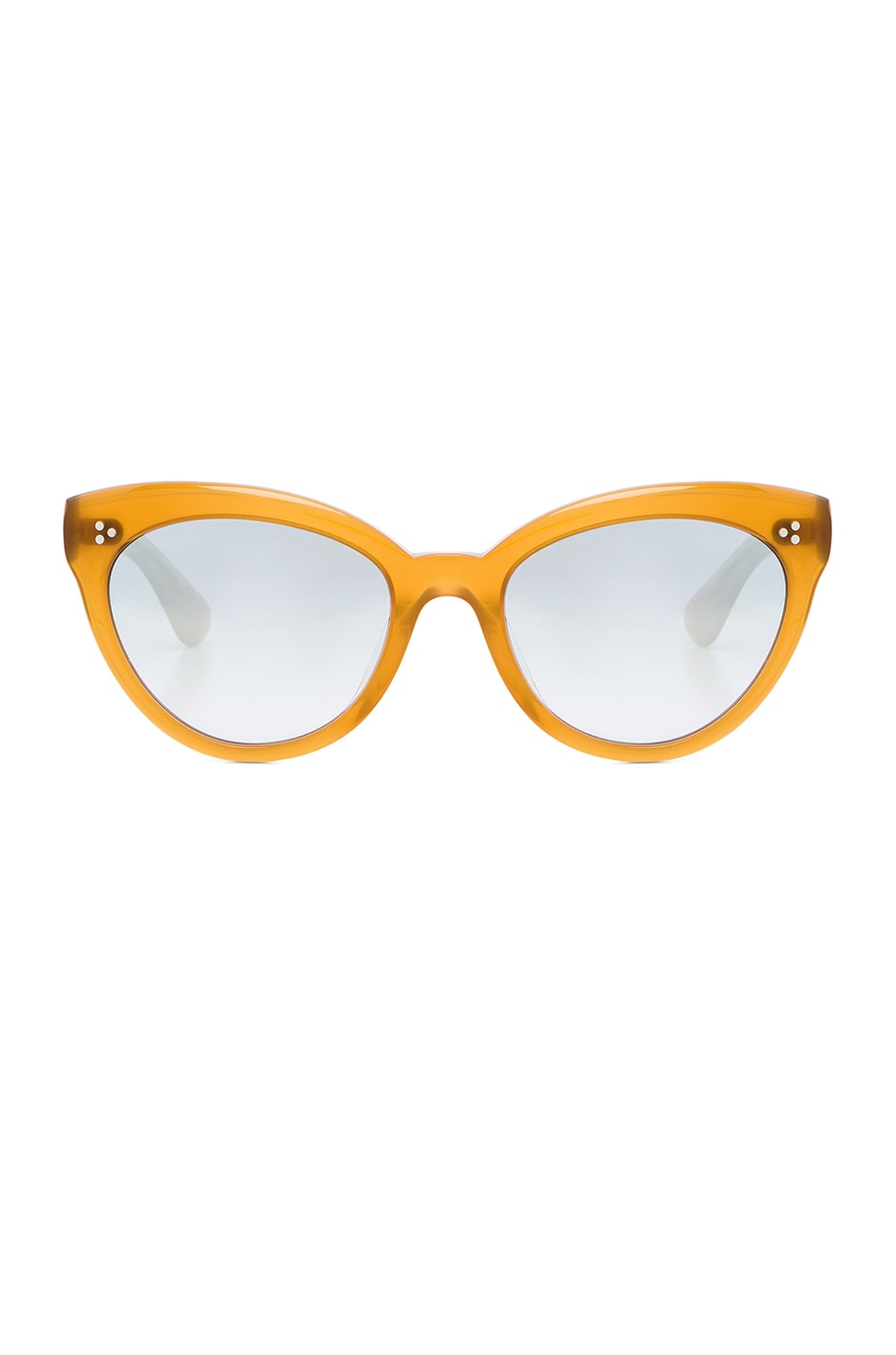 Image 1 of Oliver Peoples Roella Sunglasses in Amber & Steel