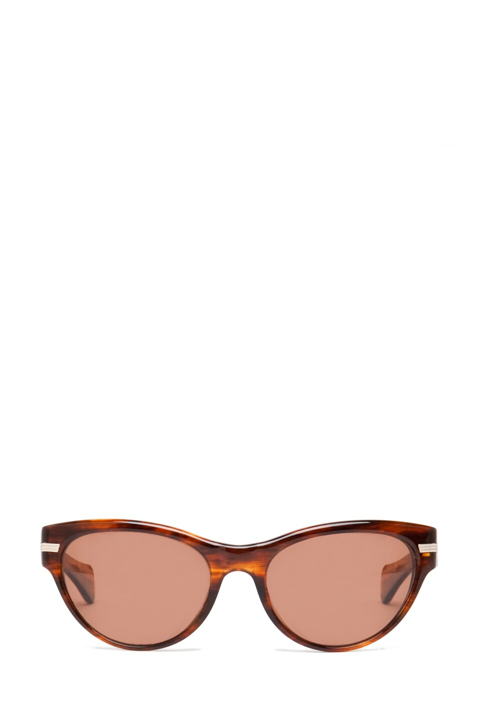 Image 1 of Oliver Peoples Kosslyn Polarized Sunglasses in Morrel Tortoise