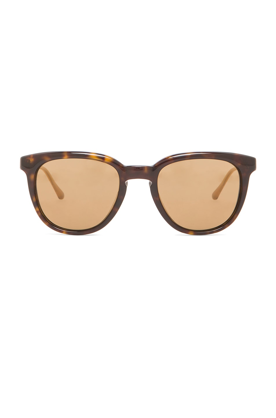 Image 1 of Oliver Peoples WEST Polarized Beech Sunglasses in Oak