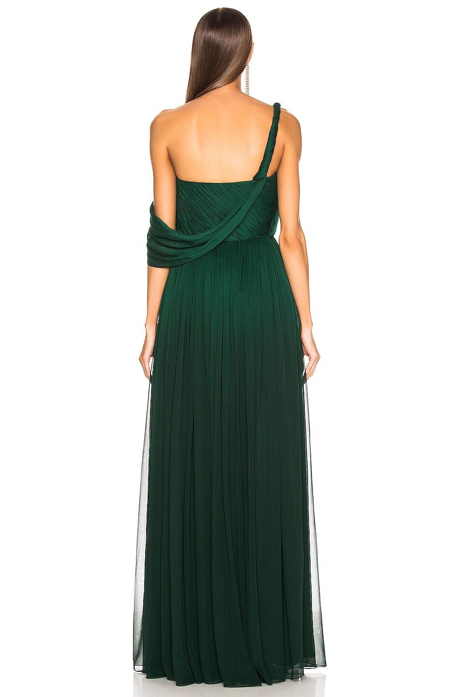 Image 4 of Oscar de la Renta Drape Gown in Basil