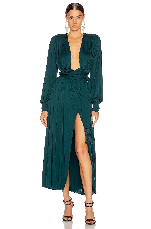 Image 1 of Oscar de la Renta Day Dress in Spruce