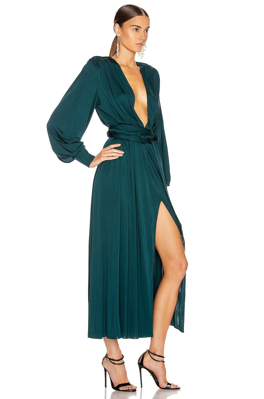 Image 2 of Oscar de la Renta Day Dress in Spruce