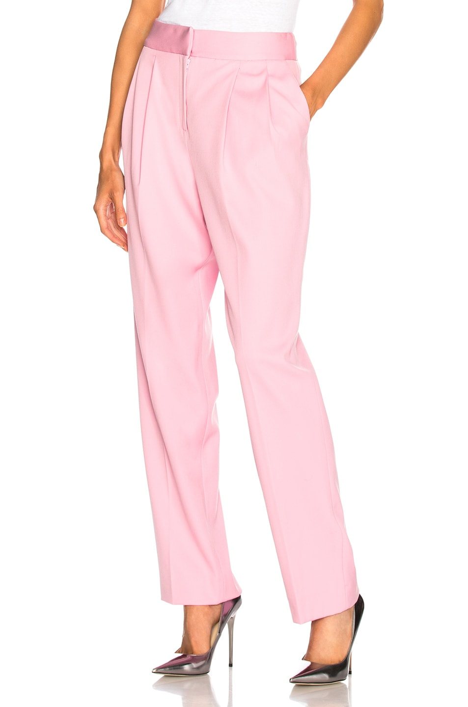 Image 1 of Oscar de la Renta Trousers in Rose