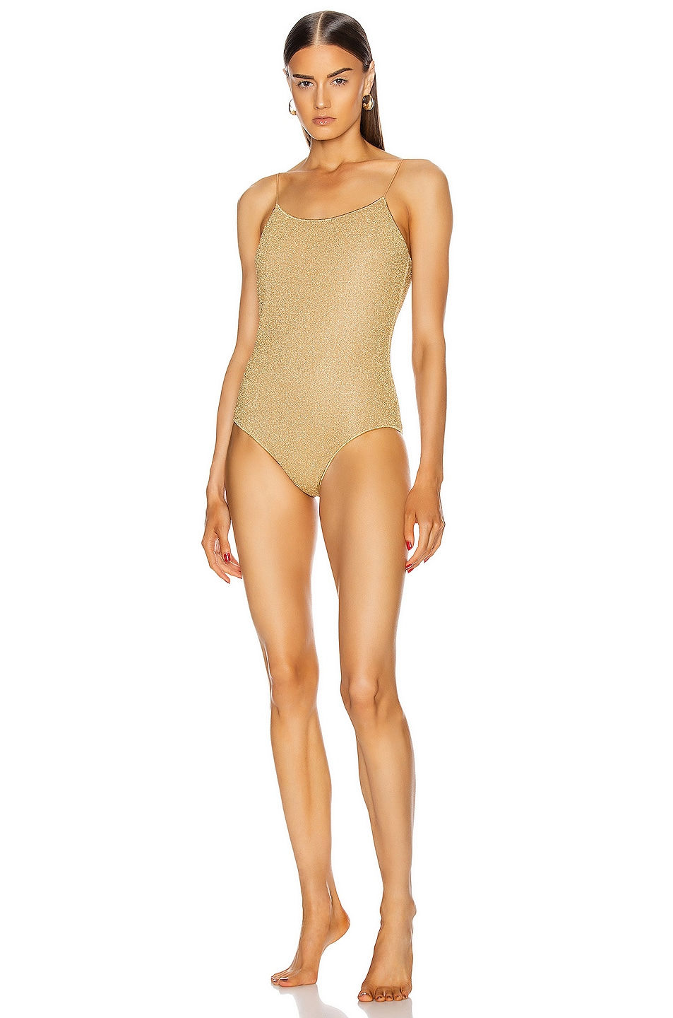 Image 1 of Oseree Maillot One Piece in Gold