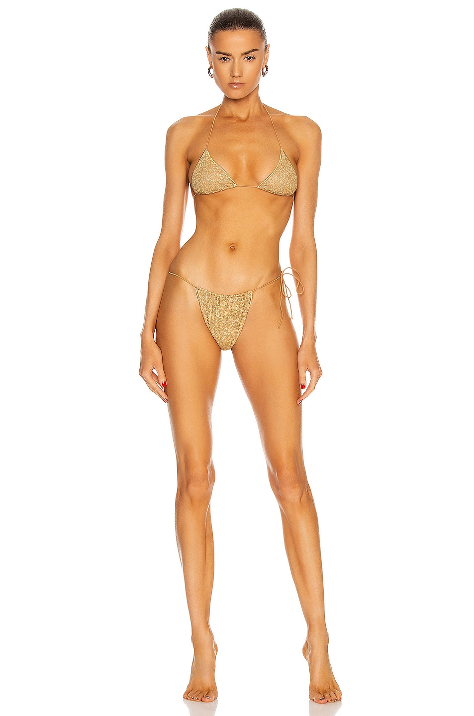 Image 1 of Oseree Lumiere Microkini in Gold