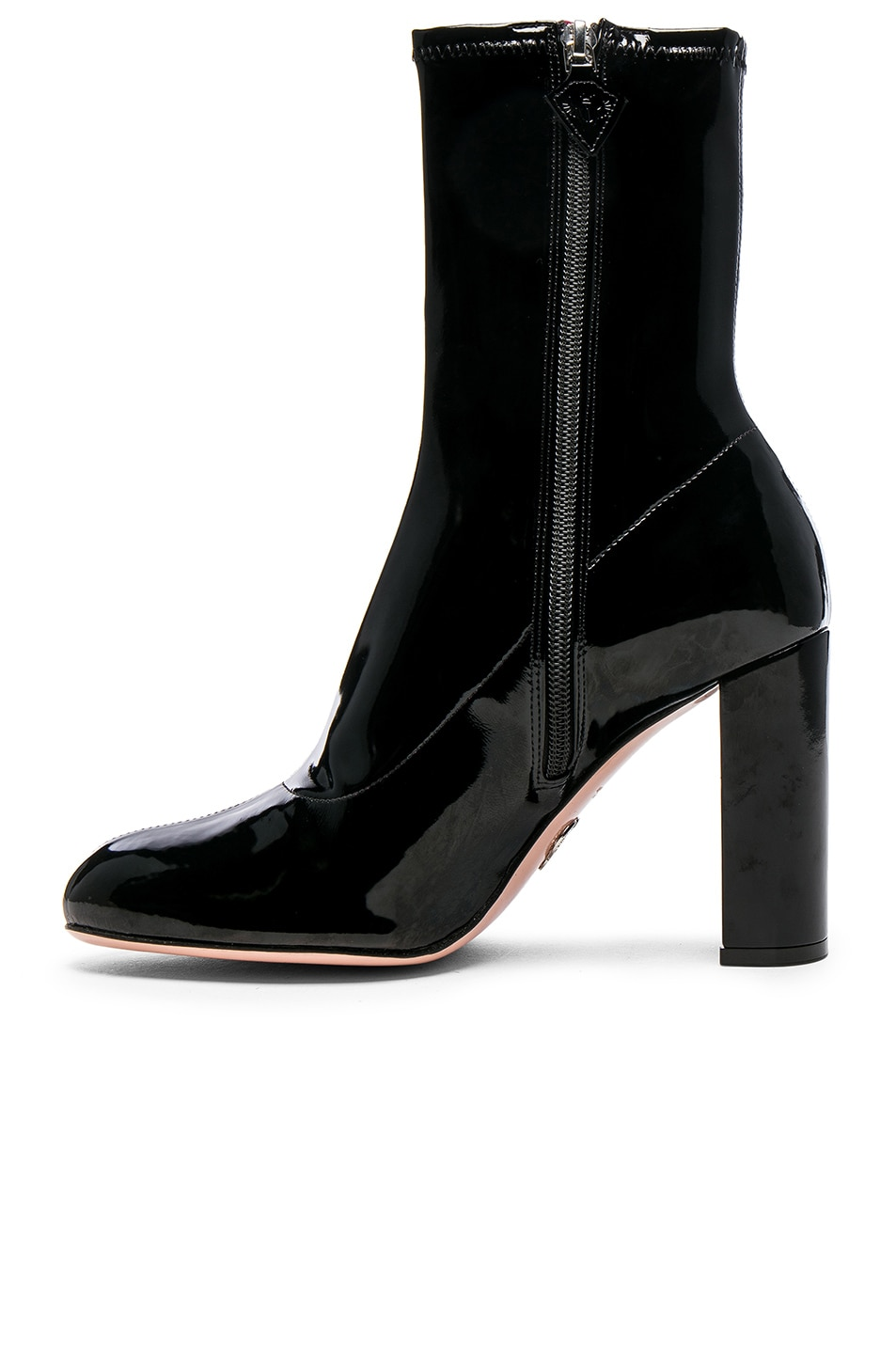 Image 5 of Oscar Tiye Patent Leather Giorgia Boots in Black Latex