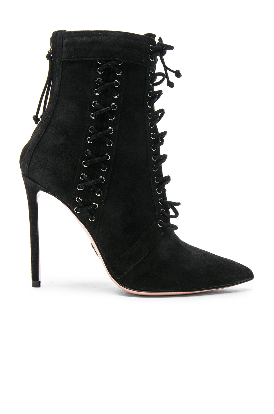 Image 1 of Oscar Tiye Suede Samira Booties in Black