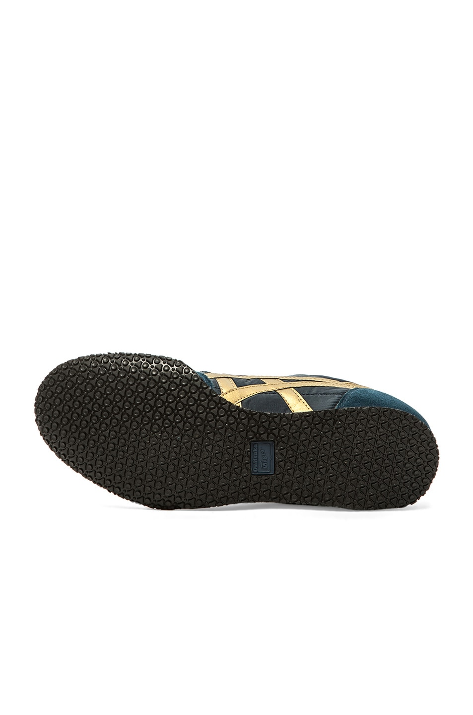Image 6 of Onitsuka Tiger Serrano in Navy & Gold