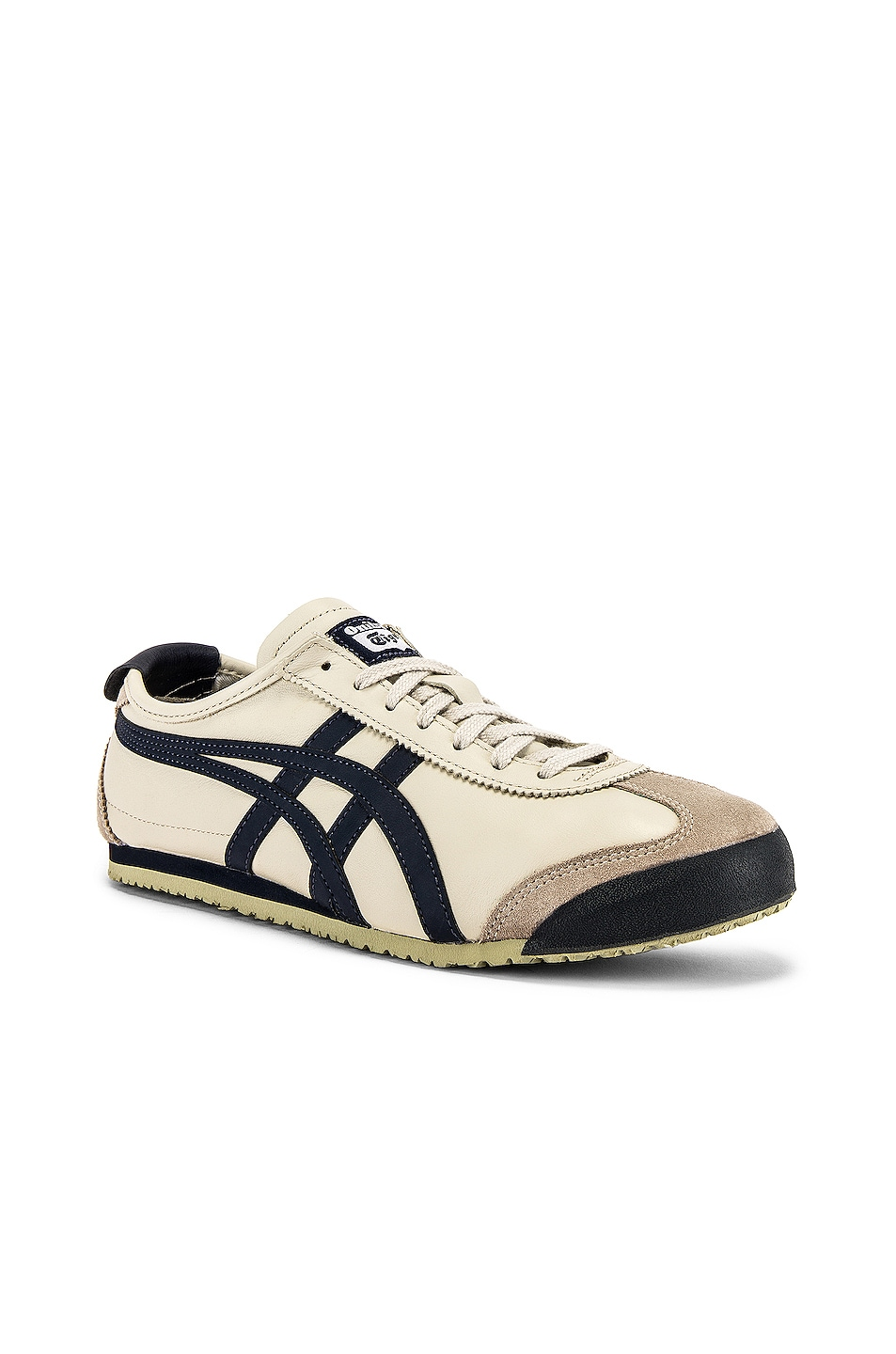 Image 1 of Onitsuka Tiger Mexico 66 in Birch & Indian Ink & Latte