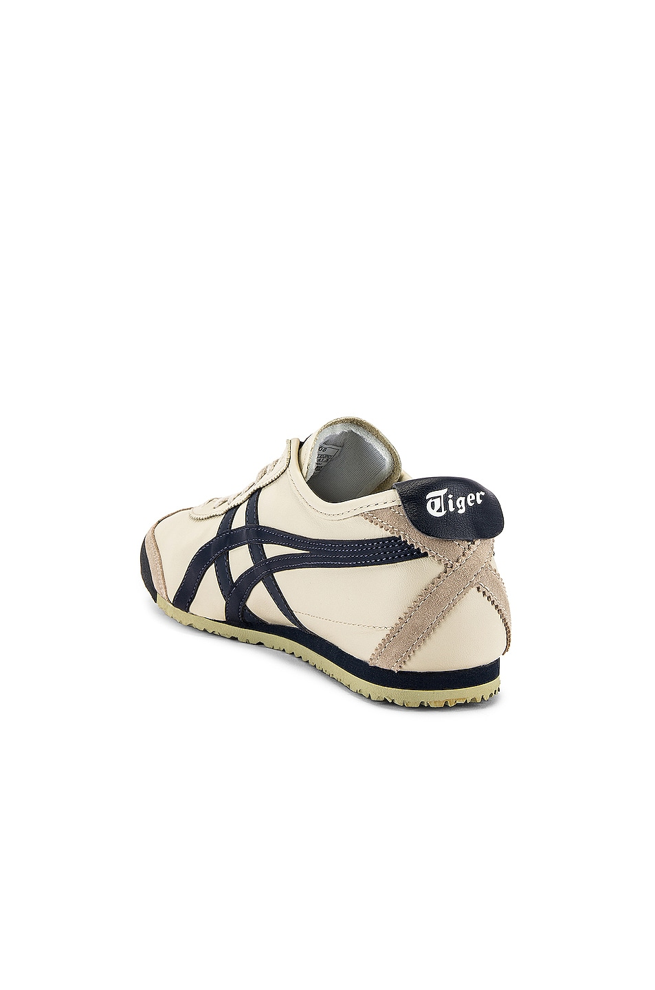 Image 3 of Onitsuka Tiger Mexico 66 in Birch & Indian Ink & Latte
