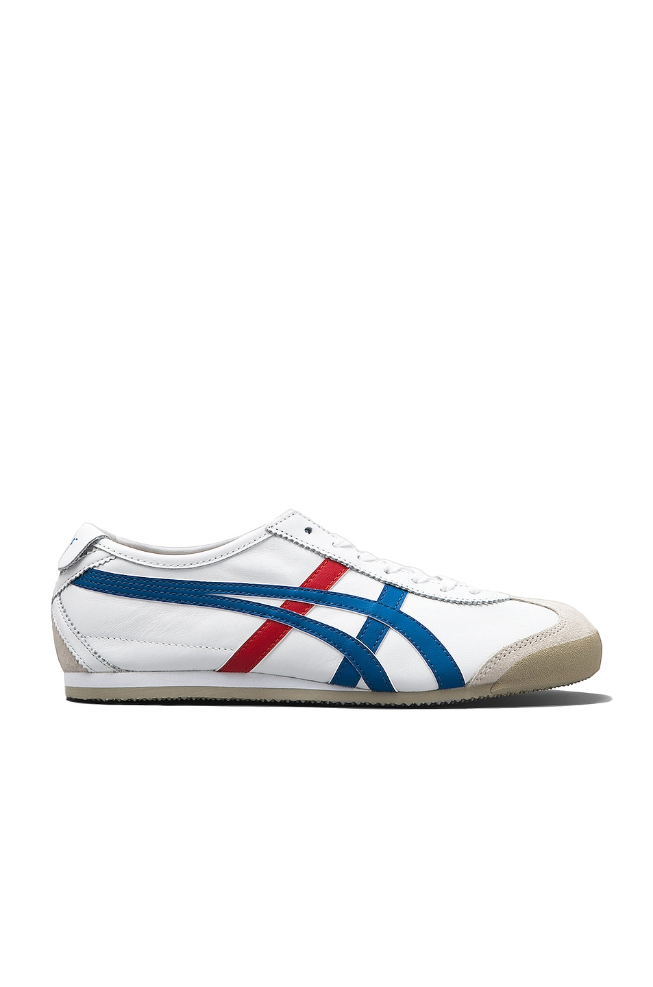 Image 1 of Onitsuka Tiger Mexico 66 in White & Blue