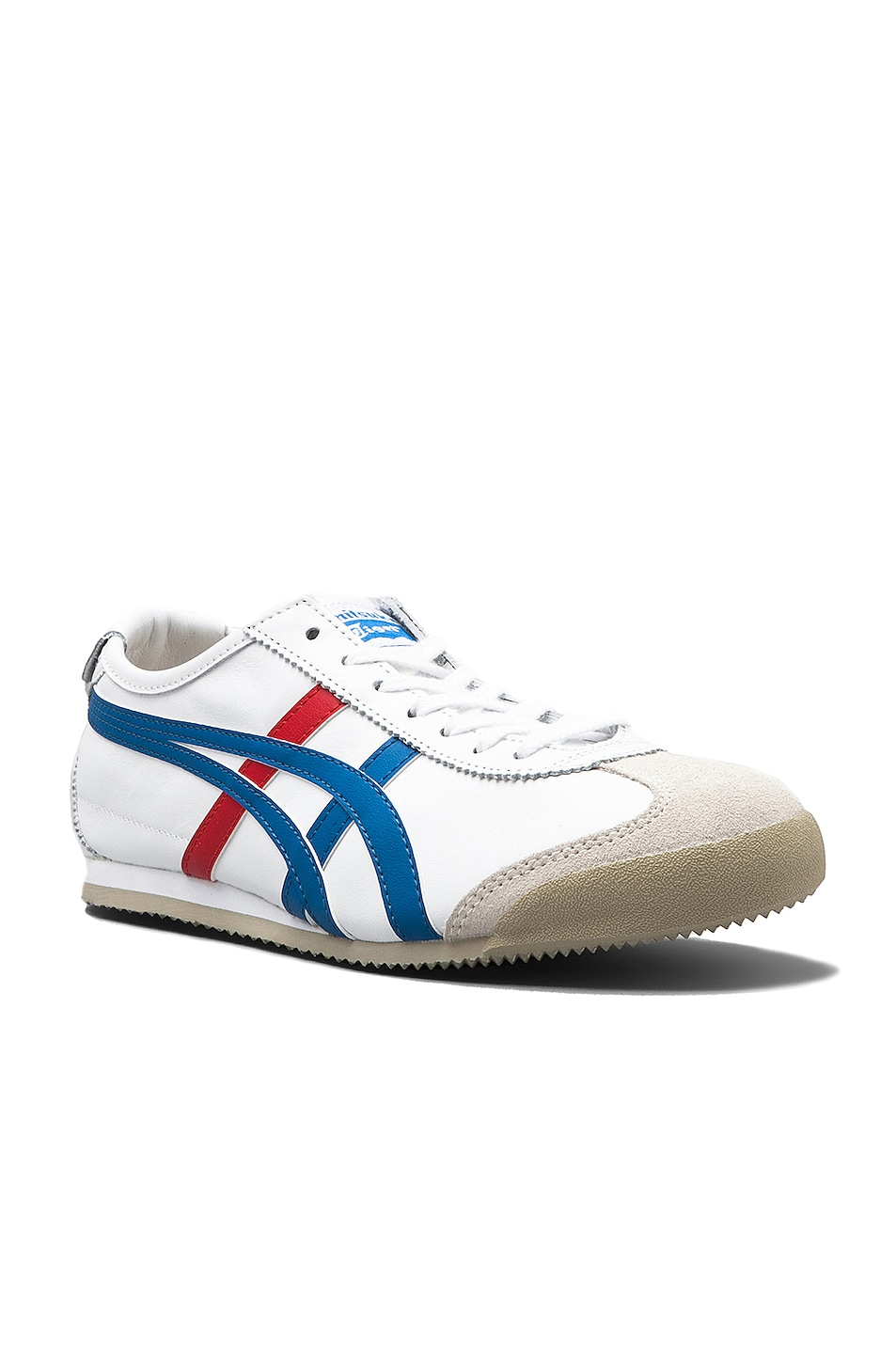 Image 2 of Onitsuka Tiger Mexico 66 in White & Blue