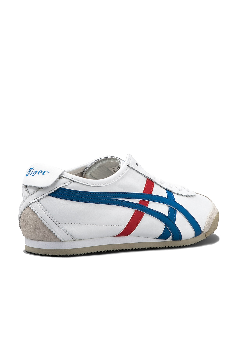 Image 4 of Onitsuka Tiger Mexico 66 in White & Blue