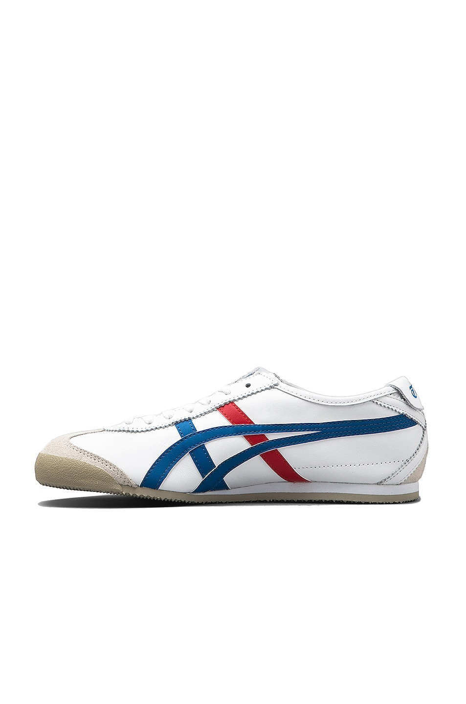 Image 5 of Onitsuka Tiger Mexico 66 in White & Blue