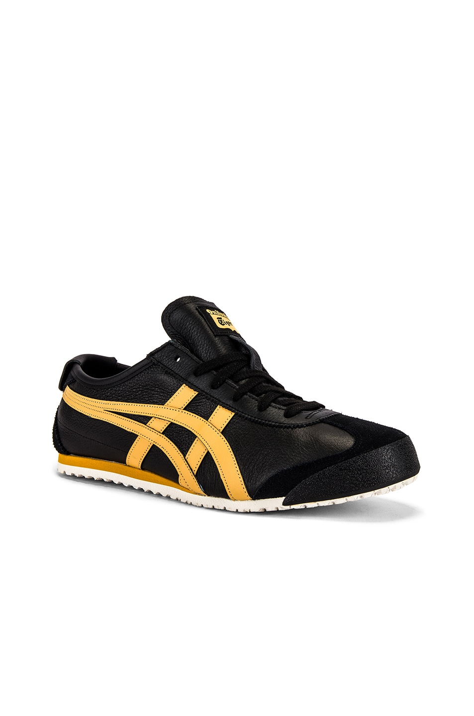 Image 1 of Onitsuka Tiger Mexico 66 in Black & Honey